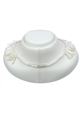 Naszyjnik z pereł Biwa N45LUS1