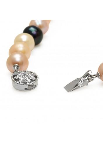 Bransoleta z pereł Biwa N1011S3MIX